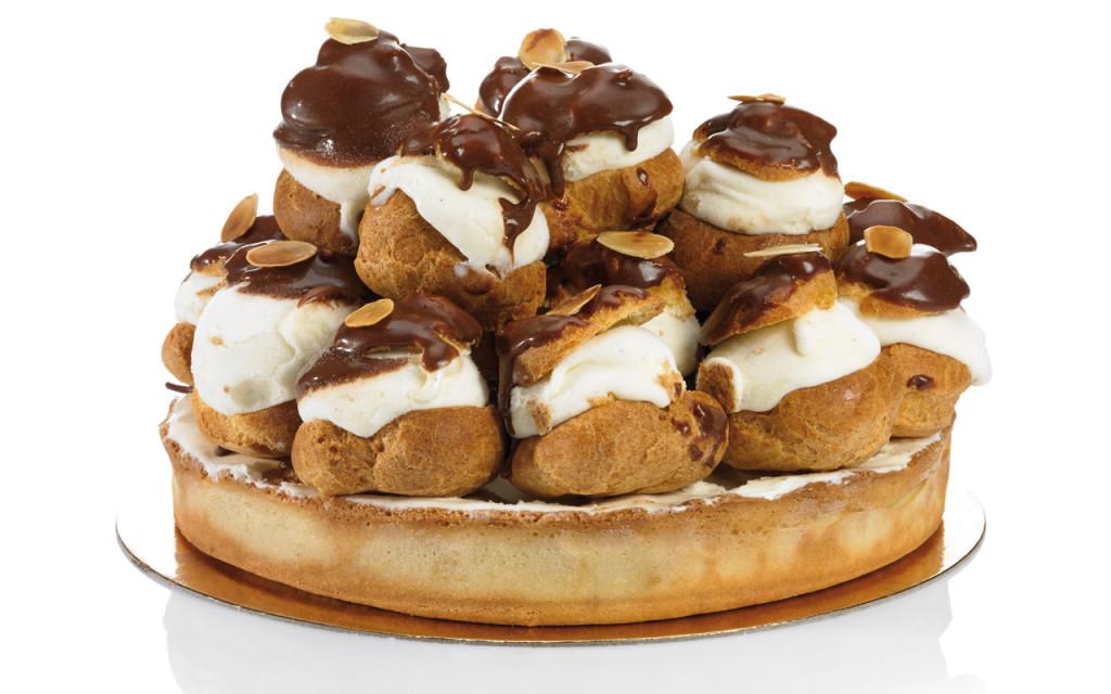 tarte-profiteroles-glace-spécialité-jampi